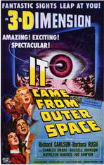 It Came from Outer Space - 11 x 17 Movie Poster - Style A