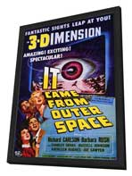 It Came from Outer Space - 11 x 17 Movie Poster - Style A - in Deluxe Wood Frame