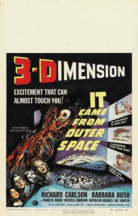 It Came from Outer Space - 27 x 40 Movie Poster - Style B