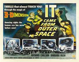 It Came from Outer Space - 22 x 28 Movie Poster - Half Sheet Style A