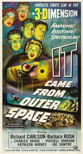 It Came from Outer Space - 20 x 40 Movie Poster - Style A