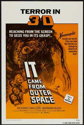 It Came from Outer Space - 27 x 40 Movie Poster - Style C
