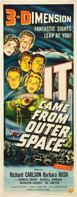 It Came from Outer Space - 14 x 36 Movie Poster - Insert Style A