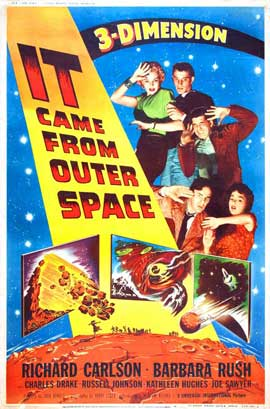 It Came from Outer Space - 27 x 40 Movie Poster - Style D
