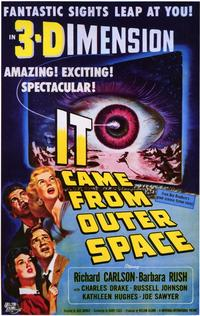 It Came from Outer Space - 11 x 17 Movie Poster - Style A - Museum Wrapped Canvas