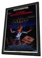 It Came Without Warning - 11 x 17 Movie Poster - Style A - in Deluxe Wood Frame