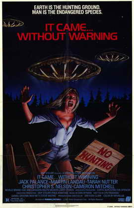 It Came Without Warning - 11 x 17 Movie Poster - Style A