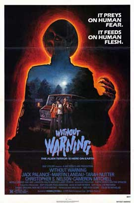 It Came Without Warning - 11 x 17 Movie Poster - Style B