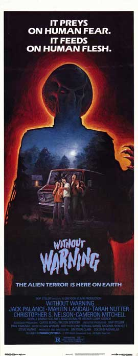 It Came Without Warning - 14 x 36 Movie Poster - Insert Style A