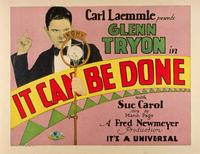 It Can Be Done - 11 x 14 Movie Poster - Style A