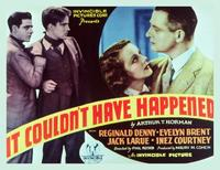 It Couldn't Have Happened But It Did - 11 x 14 Movie Poster - Style A