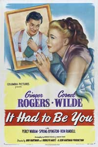 It Had to be You - 27 x 40 Movie Poster - Style A