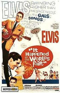 It Happened at the World's Fair - 43 x 62 Movie Poster - Bus Shelter Style A
