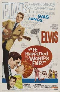 It Happened at the World's Fair - 43 x 62 Movie Poster - Bus Shelter Style B