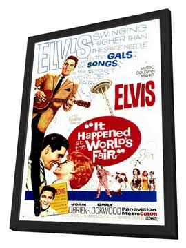 It Happened at the World's Fair - 27 x 40 Movie Poster - Style A - in Deluxe Wood Frame