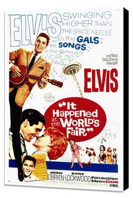 It Happened at the World's Fair - 27 x 40 Movie Poster - Style A - Museum Wrapped Canvas
