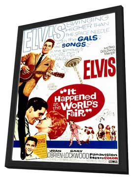It Happened at the World's Fair - 11 x 17 Movie Poster - Style A - in Deluxe Wood Frame