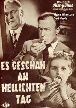 It Happened in Broad Daylight - 11 x 17 Movie Poster - German Style A