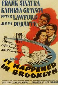 It Happened in Brooklyn - 27 x 40 Movie Poster - Style A