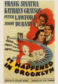 It Happened in Brooklyn - 43 x 62 Movie Poster - Bus Shelter Style A