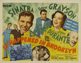 It Happened in Brooklyn - 22 x 28 Movie Poster - Half Sheet Style A