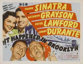 It Happened in Brooklyn - 11 x 14 Movie Poster - Style A