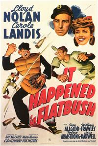 It Happened in Flatbush - 27 x 40 Movie Poster - Style B