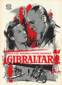 It Happened in Gibraltar - 11 x 17 Movie Poster - Belgian Style A