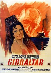 It Happened in Gibraltar - 11 x 17 Movie Poster - French Style A