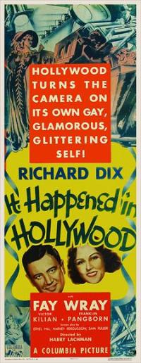 It Happened in Hollywood - 11 x 17 Movie Poster - Style A