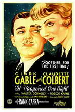 It Happened One Night - 27 x 40 Movie Poster - Style A