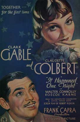 It Happened One Night - 11 x 17 Movie Poster - Style B