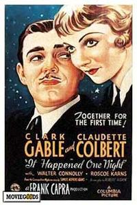 It Happened One Night - 43 x 62 Movie Poster - Bus Shelter Style A