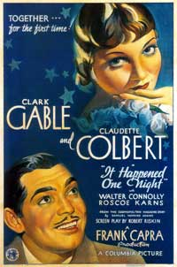 It Happened One Night - 43 x 62 Movie Poster - Bus Shelter Style B