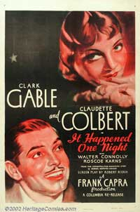 It Happened One Night - 11 x 17 Movie Poster - Style G