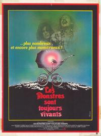 It Lives Again - 47 x 62 Movie Poster - French Style A