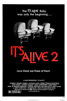 It Lives Again - 11 x 17 Movie Poster - Style B