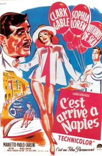 It Started in Naples - 11 x 17 Movie Poster - French Style A