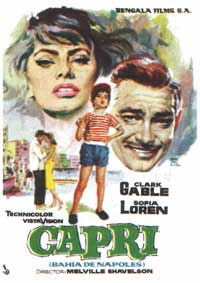 It Started in Naples - 11 x 17 Movie Poster - Spanish Style A