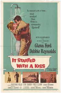 It Started with a Kiss - 43 x 62 Movie Poster - Bus Shelter Style A