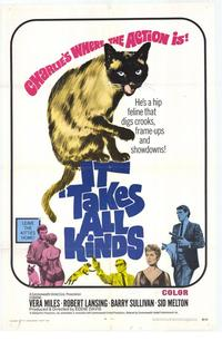 It Takes All Kinds - 27 x 40 Movie Poster - Style A