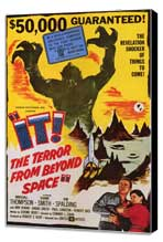It! The Terror From Beyond Space - 11 x 17 Movie Poster - Style A - Museum Wrapped Canvas