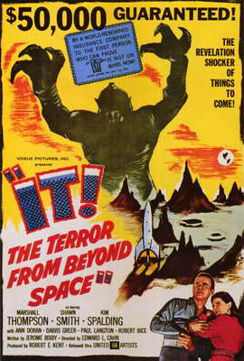 It! The Terror From Beyond Space - 27 x 40 Movie Poster - Style A