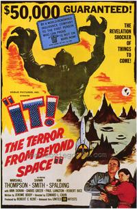 It! The Terror From Beyond Space - 43 x 62 Movie Poster - Bus Shelter Style A