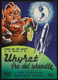 It! The Terror From Beyond Space - 27 x 40 Movie Poster - Danish Style A