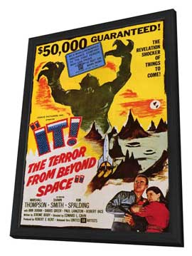 It! The Terror From Beyond Space - 11 x 17 Movie Poster - Style A - in Deluxe Wood Frame