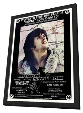 Italian Stallion - 11 x 17 Movie Poster - Style A - in Deluxe Wood Frame