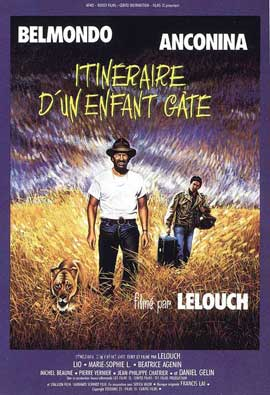 Itin�raire d'un enfant g�t� - 27 x 40 Movie Poster - French Style A