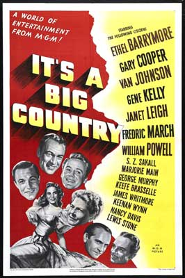 It's a Big Country - 27 x 40 Movie Poster - Style A