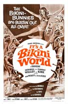 It's a Bikini World - 11 x 17 Movie Poster - Style B